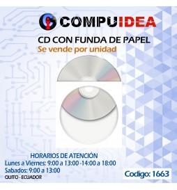 CD con funda de papel (se vende por unidad)